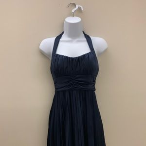 Speechless Navy Electrical Plates Dress